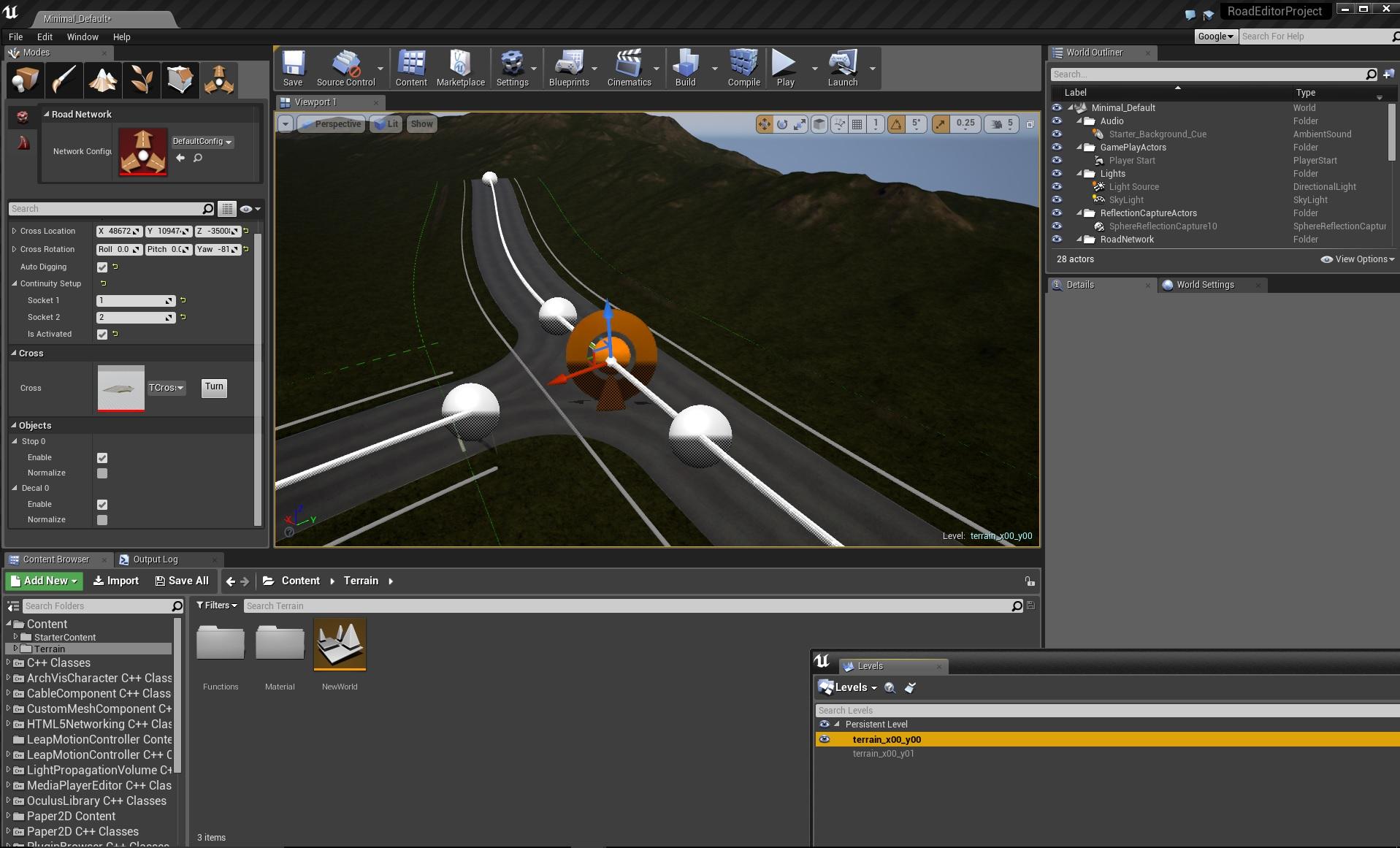 Road Editor release – Talos Studio